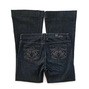 Kut from the Kloth dark Wash Wide Flare Jeans